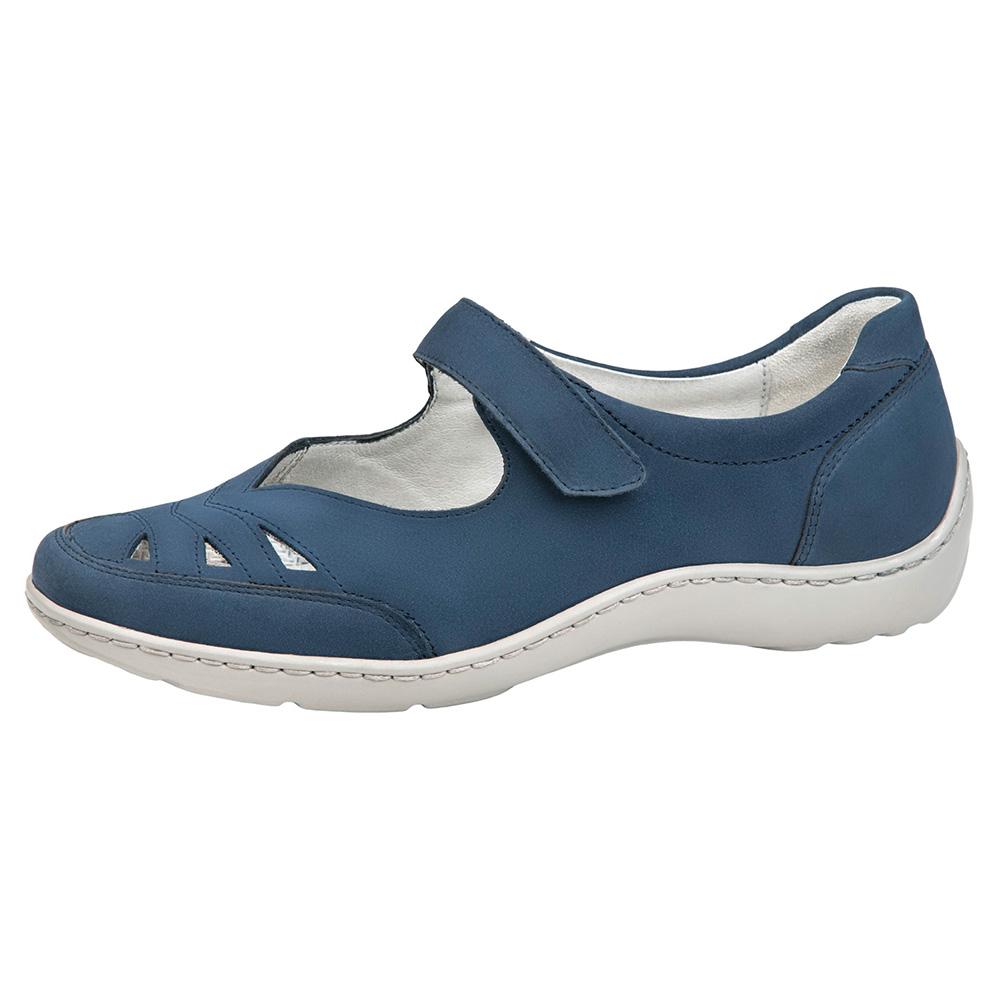 Waldlaufer 496309 Henni Jeans blue bar shoe Sizes - 5 to 8 Price - £75