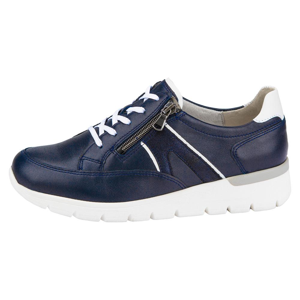 Waldlaufer 626001 K Ramona Navy lace zip shoe Sizes - 4.5 to 7 Price - £79