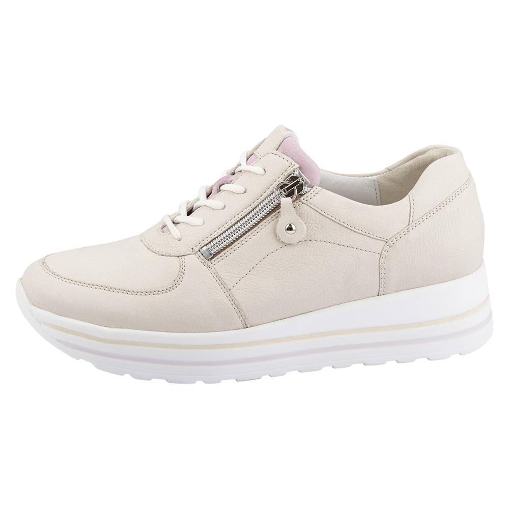 Waldlaufer 758008 H Lana Flieder zip lace shoe Sizes - 4 to 6.5 Price - £79