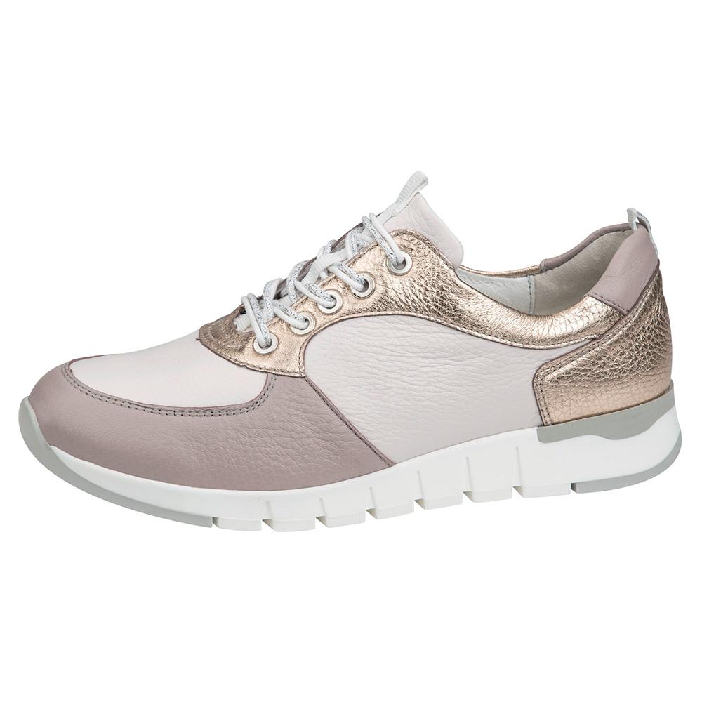Waldlaufer 908012 H Petra Rose cream multi lace shoe Sizes - 4 to 7 Price - £79