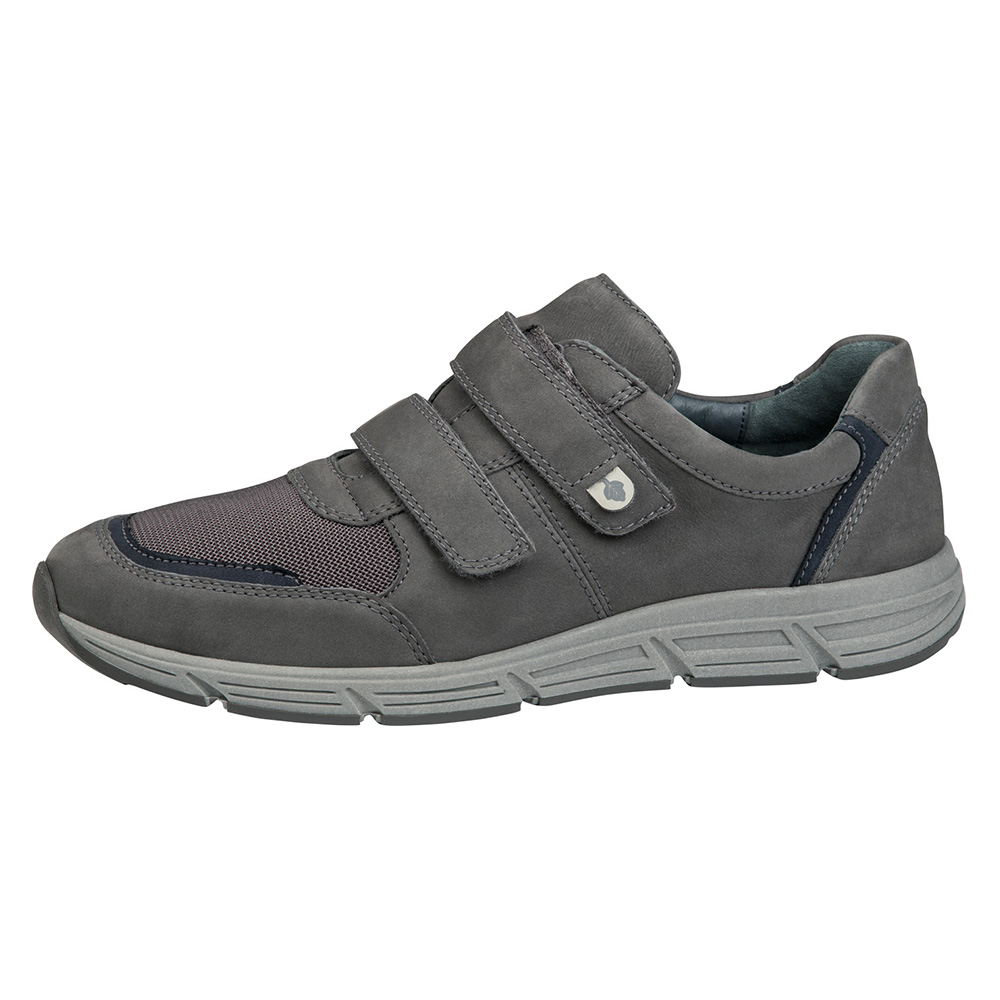 Waldlaufer Mens 323301 Haslo grey twin strap shoe Size - Sold Out.  Price - £79