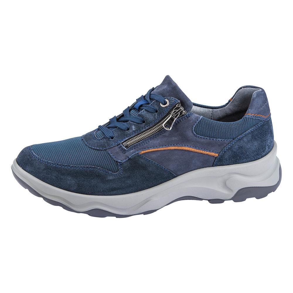 Waldlaufer Mens 718006 H Max Marine zip lace shoe Sizes - 8 to 11 Price - £89