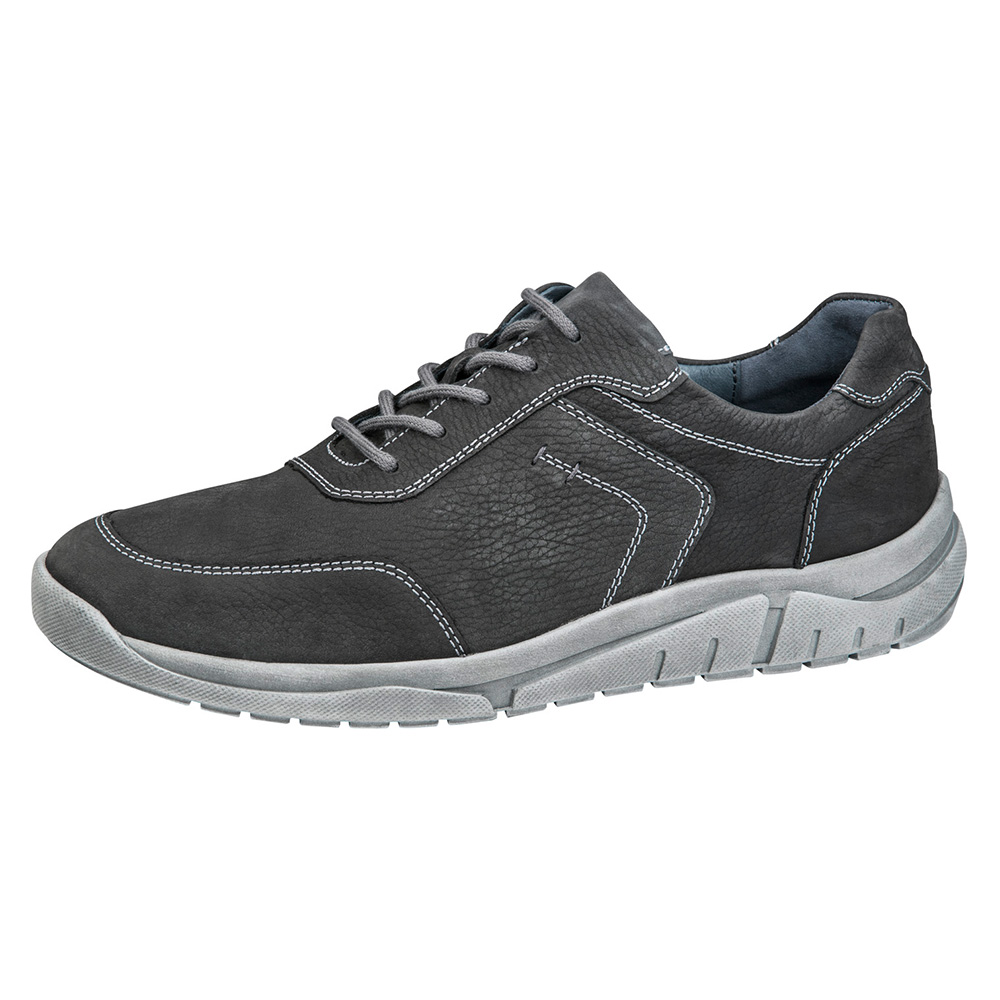 Waldlaufer Mens 924005 Hanson Grey lace shoe Sizes - 7.5 and 9 only.  Price - £79